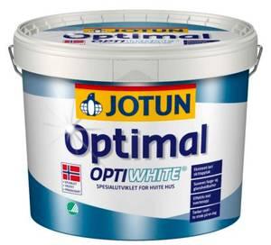 Bilde av OPTIMAL OPTIWHITE HVIT-BASE 9L JOTUN