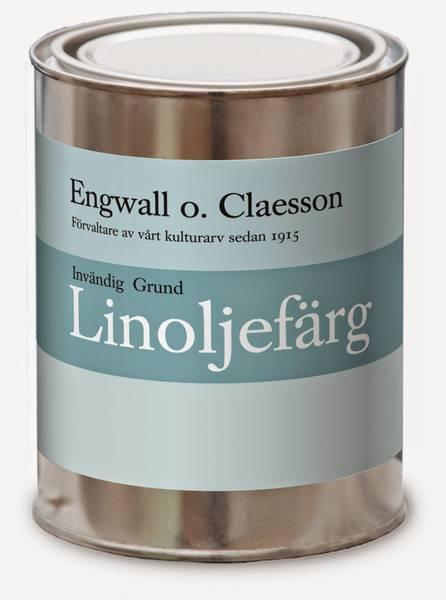 Innvendig grunning linoljemaling Hvit Engwall o Claesson